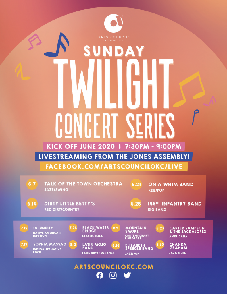 Sunday Twilight Concert Series 2020