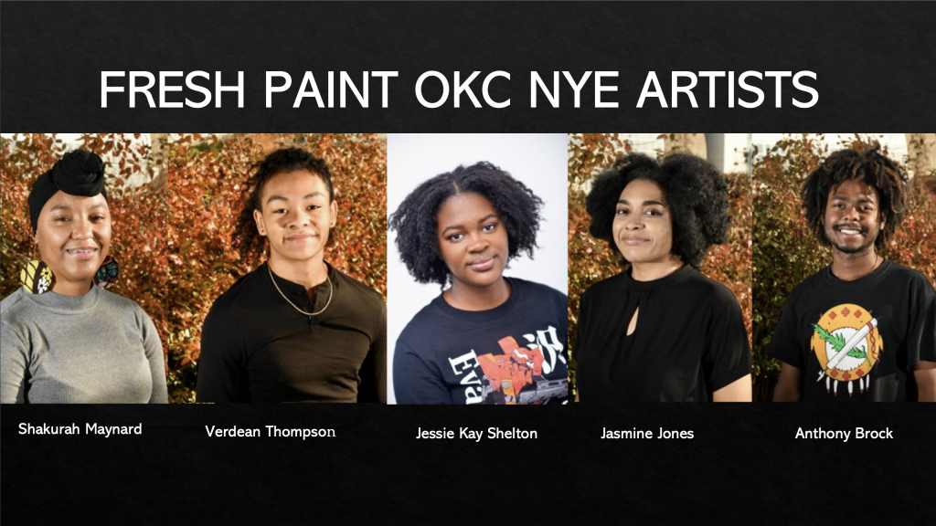 FRESH PAINT: OKC NYE