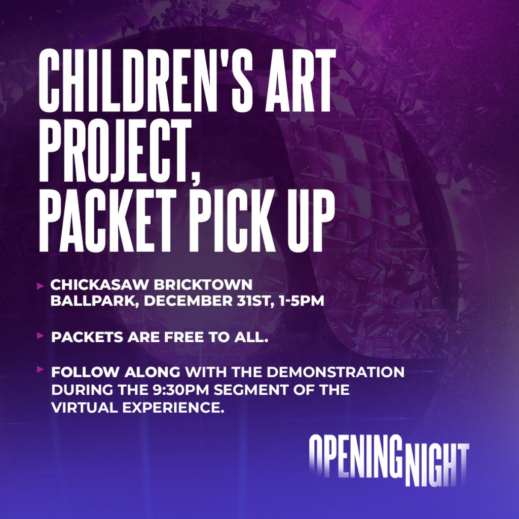 Children's Art Packet Pickup