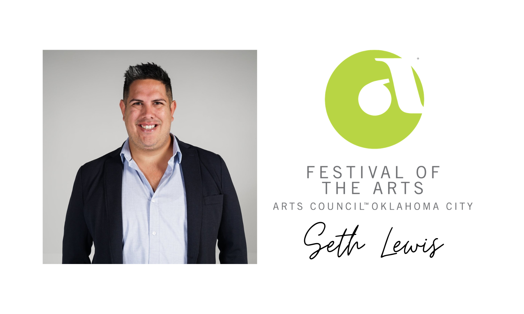Seth Lewis, Director of Festival of the Arts