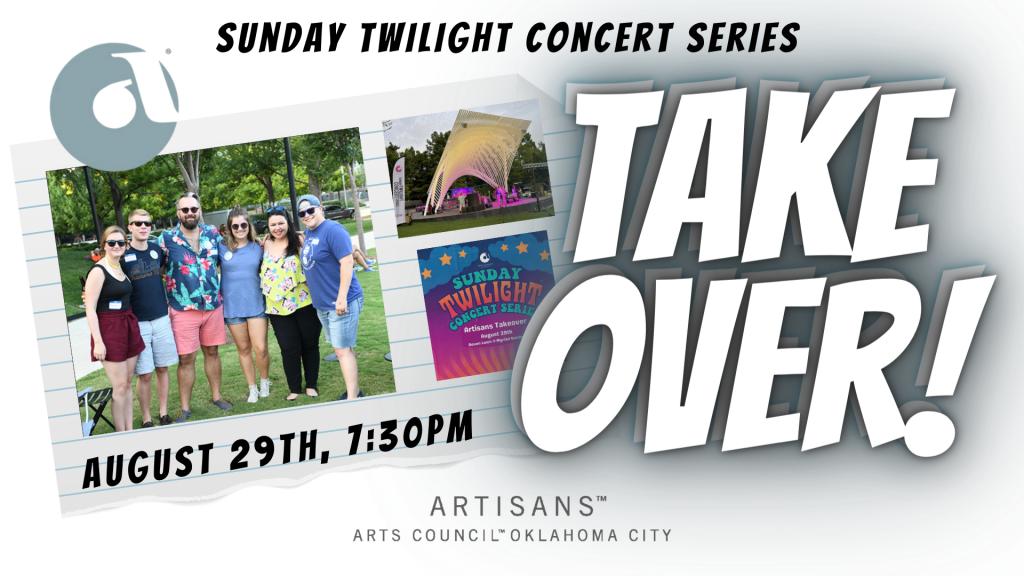Artisans Take Over Sunday Twilight Concert Series!