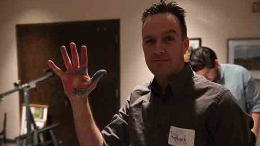 Artisans, a group of young professionals in OKC, gather for an event